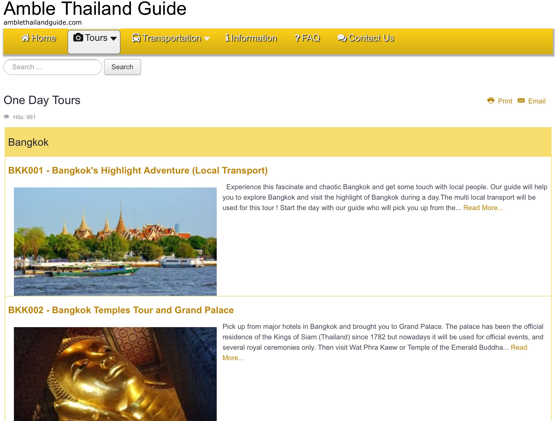 Amble Thailand Guide
